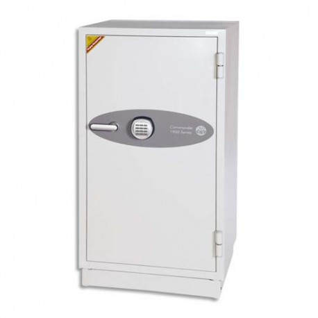 PHOENIX Coffre-fort ignifugé de haute protection pour papier et données informatique 163 litres blanc