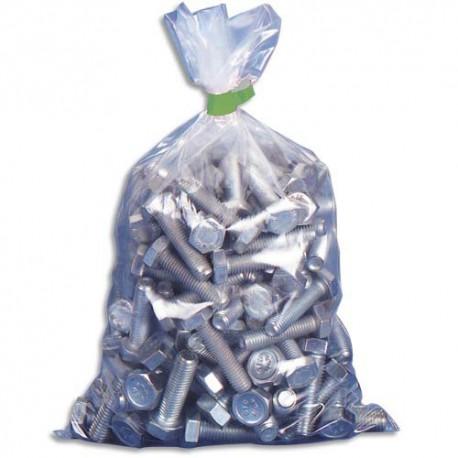 EMBALLAGE Boîte de 1000 Sachets plastique transparent 50 microns - H16 cm, ouverture 8 cm