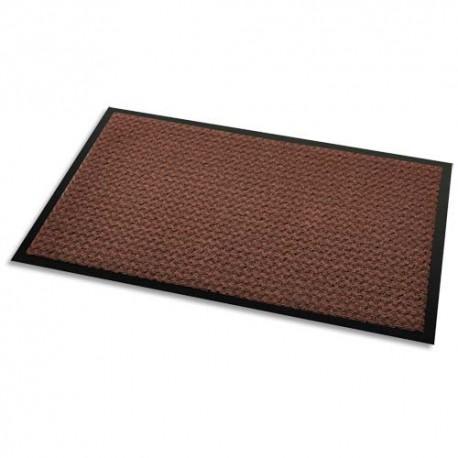 3M Tapis d'accueil Aqua Nomad 45 brun double fibre gratante et absorbante 90 x 60 cm épaisseur 5,6 mm