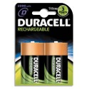 DURACELL Blister de 2 accus rechargeables 1,2V D/HR20 2200mAh