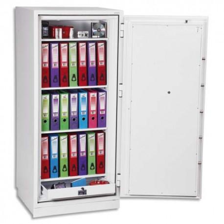 PHOENIX Coffre-fort ignifugé de haute protection pour papier et données informatique 380 litres blanc
