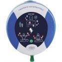 HEARTSINE Pack Complet Défibrilateur Samaritan PAD360P automatique + Armoire de rangement + Kit sauveteur