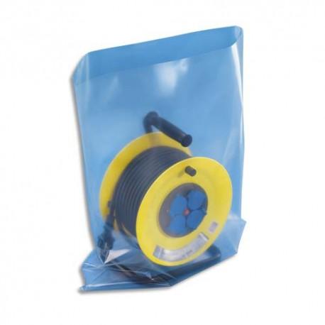 EMBALLAGE Boîte de 100 Sachets plastique transparent 150 microns - H60 cm, ouverture 40 cm