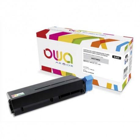 OWA Cartouche compatible laser noir OKI 44574802 K15665OW