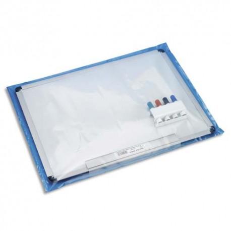 EMBALLAGE Boîte de 100 Sachets plastique transparent 150 microns - H120 cm, ouverture 60 cm