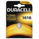 DURACELL Blister d'1 pile 1616 Lithium Duralock pour appareils électroniques