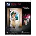 Papier photo HP - Boîtes 20 feuilles papier photo Premium Plus 13x18cm, finition brillant CR676A
