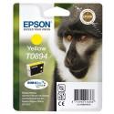 T0894 (T089440) EPSON Cartouche jet d'encre jaune de marque Epson C13T089340