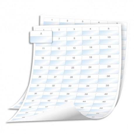 DYMO Ruban XTL™ pour enrobage de fils/câbles stratifiés polyester  41 mm x 23 mm Blanc 1908555