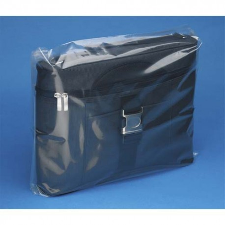 EMBALLAGE Boîte de 500 Sachets plastique transparent 50 microns - H60 cm, ouverture 40 cm