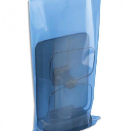 EMBALLAGE Boîte de 500 Sachets plastique transparent 100 microns - H45 cm, ouverture 35 cm