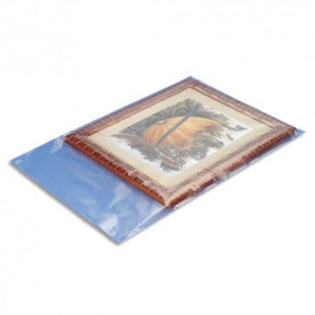EMBALLAGE Boîte de 250 Sachets plastique transparent 100 microns - H60 cm, ouverture 40 cm