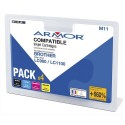 ARM Pack couleur jet d'encre compatible BROTHER LC980/1100 B10145R1