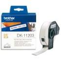 BROTHER DK-11203 (DK11203) Rouleau de 300 étiquettes pour classement 17x87mm
