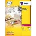 Etiquette AVERY L7165 - Boite de 2000 etiquettes adresses laser blanches dimensions 99,1x67,7mm (L7165-250)
