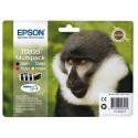 T0895 (T089540) EPSON Multipack cartouche jet d'encre 4 couleurs de marque Epson C13T089540