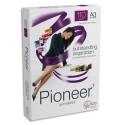 Ramette papier blanc A3 ANTALIS Pioneer 250 feuilles 110g sans chlore extra blanc Pioneer CIE 172