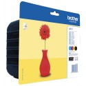 BROTHER LC-121 (LC121) Multipack jet d'encre de marque brother LC121VALBP