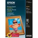 EPSON Pack de 20 feuilles papier photo jet d'encre glossy A4 C13S042438