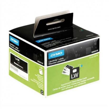 DYMO Rouleau Detiquettes 300 Carte De Visite 89x51mm Pour Imprimantes D