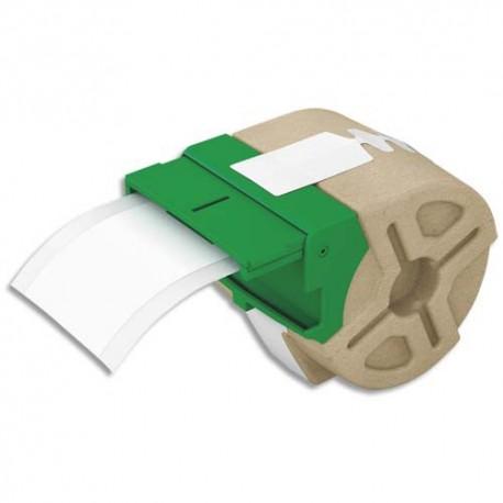 LEITZ 70060001 - Cartouche ruban d'étiquettes continues en papier adhésif permanent 50mmx22m Blanc 70060001