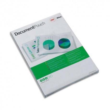 Plastification A4 - Boîte de 25 pochettes à plastifier 125 microns par face soit 250 microns GBC 3740482