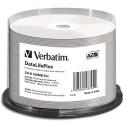VERBATIM Tiour de 50 cdr imprimable, 52x 43745+redv