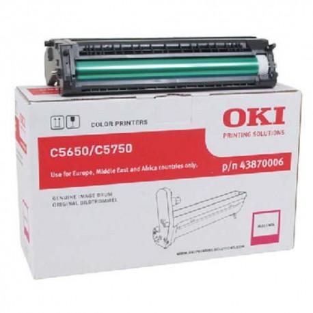 OKI 43870006 - Tambour magenta de marque OKI 43870006