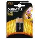 DURACELL Blister de 1 pile Alcaline 9V 6LR61 Plus Power Duralock