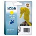 T0484 (T048440) EPSON Cartouche jet d'encre jaune de marque Epson C13T048440