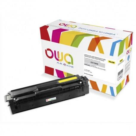 SAMSUNG CLT-Y504S (Y504S) Cartouche toner jaune compatible de marque OWA CLT-Y504S