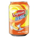 LIPTON Cannette d'Ice Tea pêche de 33 cl