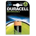 DURACELL Blister de 1 accus rechargeable 9V HR9V 170mAh