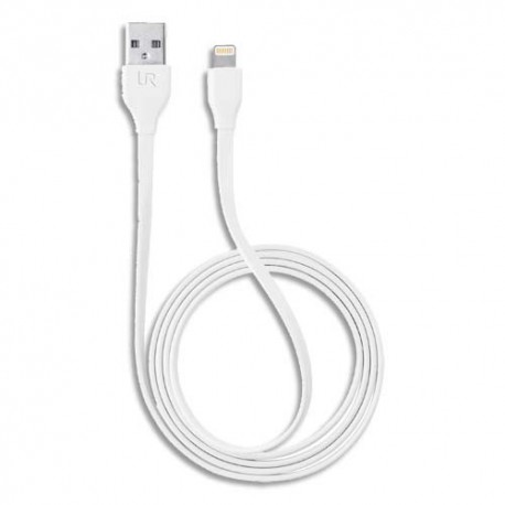 TRUST Câble lightning 1 mètre Blanc 20345 100% compatible Apple