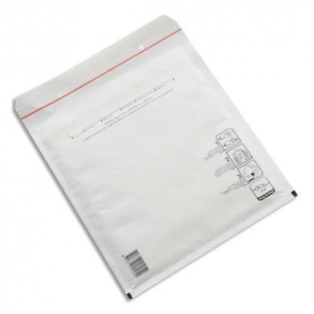 Enveloppe bulles PREGIS - P/10 pochettes à bulles d'air Jiffy Bag in Bag fermeture auto-adhésive Format 22 x 34 cm