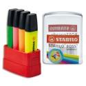 STABILO Boite de 20 recharges assortis pour surligneur Boss Original 070