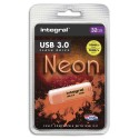 INTEGRAL Clé USB 3.0 Neon 32Go Orange INFD32GoNEONOR3.0+ redevance