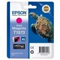 T1573 (T157340) EPSON Cartouche jet d'encre magenta de marque Epson C13T157340 (tortue)