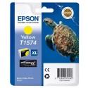 T1574 (T157440) EPSON Cartouche jet d'encre jaune  de marque Epson C13T157440 (tortue)