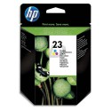 HP 23 (C1823D) - Cartouche jet d'encre couleur de marque HP N°23 / C1823D