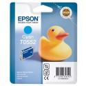 T0552 (T055240) EPSON Cartouche jet d'encre cyan de marque Epson CT13T055240