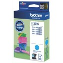 BROTHER LC-221C (LC221C) Cartouche jet d'encre cyan de marque Brother LC221C (LC-221C)