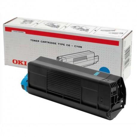 OKI 42127404 - Cartouche toner cyan de marque OKI C5100 (42127404)