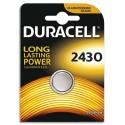 DURACELL Blister d'1 pile 2430 Lithium Duralock pour appareils électroniques