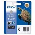 T1579 (T157940) EPSON Cartouche jet d'encre gris clair de matque Epson C13T157940 (tortue)