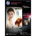 Papier photo HP - Boîtes 20 feuilles papier photo Premium Plus A4, finition mat satiné CR673A