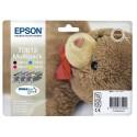 T0615 (T061540) EPSON Multipack cartouche jet d'encre 4 couleurs de marque Epson C13T061540