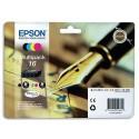 T1626 (T162640) EPSON Multipack cartouche jet d'encre 4 couleurs de marque Epson C13T162640