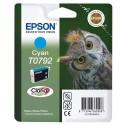 T0792 (T079240) EPSON Cartouche jet d'encre cyan de marque Epson C13T079240