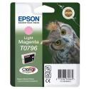 T0796 (t079640) EPSON Cartouche jet d'encre magenta clair de marque Epson C13T079640